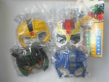 MC DONALD'S HAPPY MEAL Maschere Transformers 2016