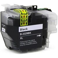4x Generic LC-3329XL LC3329XL black in cartridges for Brother MFC-J5930/ J6935DW