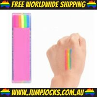 Neon Body Chalk - Glow In The Dark, Party, Rainbow *FREE WORLDWIDE SHIPPING*