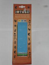 mosaïque, jeu de dessin (iotobo) caoutchouc magnétique (40 pièces de 35mm) (a)