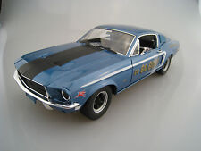 1968 FORD MUSTANG 2+2 Fastback Jimbo'S PURE OIL LIMITED Greenlight 1:18 NUOVO