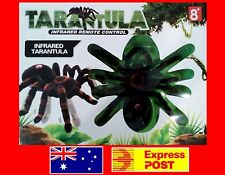 NEW Remote Control Tarantula Real Looking Spider Toy RC Infrared + Light GIFT 8+
