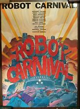 Anime Movie Poster Robot Carnival Illustrated Katsuhiro Ohtomo
