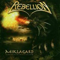 "REBELLION ""MIKLAGARD HISTORY OF THE..."" CD NEUWARE"