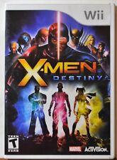 Nintendo WII X-Men Destiny Kids 10+ Teen Family Complete NICE Condition Fantasy