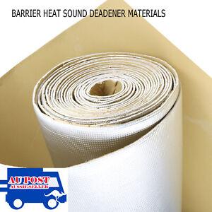5m2 Roll Car Audio Sound Deadener Road Noisy Proofing Reflective Aluminized skin