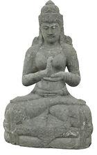 Aus-17 Buddha Figur Tempelwächter Buddha stein Budha Steinfigur Budda 100 cm