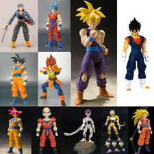 Dragon Ball Z Super Saiyan God Goku Vegetto Vegeta Trunks Frieza Action Figure