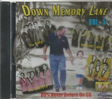 DOWN MEMORY LANE- CD - Vol. 5 - BRAND NEW