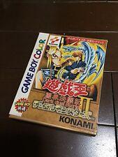 NINTENDO GAMEBOY COLOR Yu-Gi-Oh! Battle Monster 2 Nintendo Game Boy Color JAPAN