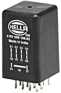 Glow Plug System Control Unit HELLA Fits AUDI VW PORSCHE A4 Avant 4RV008188521