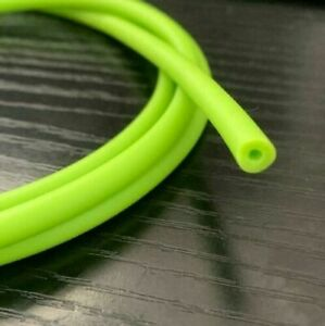 1 Meter Green Natural Latex Rubber Tube Slingshot Catapult Band Elastic 2x5mm 1M