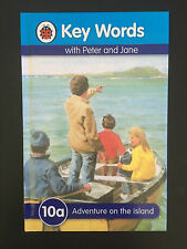 Ladybird, H/C, Key Words With Peter And Jane, 10a Adventure on The Island