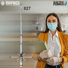 SIRIO 827 ANTENA DE BASE CB27 + Aro de refuerzo Sirio AR-827
