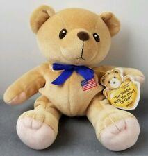 Vintage Cherished Teddies Plush Heart of Gold Usa July 4th 1999 New