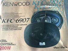 KENWOOD SPEAKERS- MODEL KFC-6907  - 6 X 9 4-WAY *NEW* AT ORIGINAL FACTORY BOX P