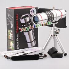 Telescope aluminium Zoom optique 18x caméra w / Cover pour iPhone 5 5S SE