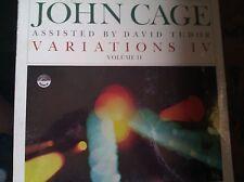 John Cage  Variations  IV  Everest 3230 Rare LP  David Tudor Factory Sealed