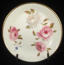 Royal Worcester Pink & White Roses 'Marissa' Fine Bone China Trinket Dish 1974+