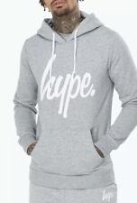 BNWT Just Hype Grey White Pullover Script Hoodie Size M Medium