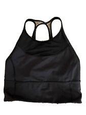lululemon bra size 4 black