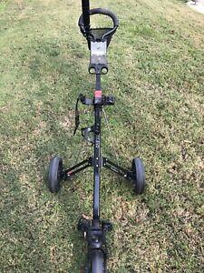 Caddytek Caddylite 3-Wheel Golf Push Cart 11.5V2 Pull Cart Trolley. 2