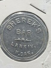 Lankin, ND Trade Token: Sherek's Bar, Good For 50 Cents in Trade