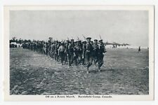 Off on a march BARRIEFIELD CAMP Kingston Ontario Canada 1914-18 Geore Clark