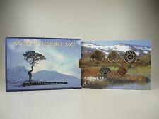 *** NORVEGIA CORONE KMS 2001 Coin Set Norway CORSO set di monete non monete metalliche in euro **