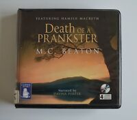 Death of a Prankster: by M. C. Beaton - Audiobook - 4CDs