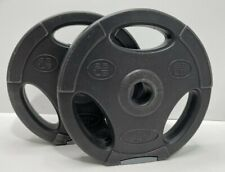 2 X 2.5 Pound Weight Plates (5 Pounds Total) 1 Inch Hole
