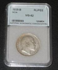 1905-B. One India Rupee. GEM Uncirculated. Beautiful Coin. Tough Date