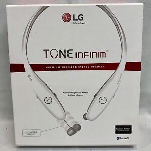 LG Tone Infinim Premium Wireless Bluetooth Stereo Headset HBS-900.ACUSWHI 19059