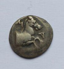 RARE ANCIENT GREEK SILVER DRACHMA. MARONEIA /400-350 B.C./ TOP QUALITY
