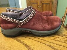 MERRELL Q-Form Encore Adams Slip-on Shoes Mules Clogs Ortholite 6  Rasin $100