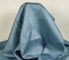 "Silk Essence Denim Blue 100% Lightweight Polyester - 41"" Wide, By the Yard, New"