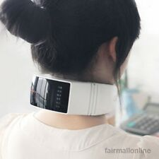 Electric Heat Vibration Cervical Spine Treatments Neck Care Massager LCD Screen
