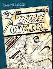 Heritage Comics & Comic Art Auction February 20-22 2014 New York NY