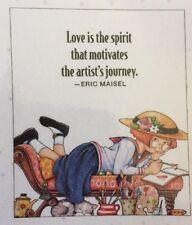 Mary Engelbreit Handmade Magnet-Love Is The Spirit That Motivates