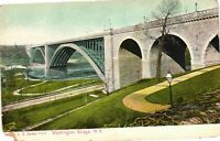 Vintage Postcard - Washington Bridge Un-Posted Undivided Back New York NY #3403