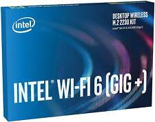More details for intel ax200 wi-fi 6 (802.11ax), 2x2, bluetooth 5.1, m.2 2230 adaptor card