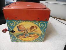 Mattel cardboard Jack in the box  Pat.Pending