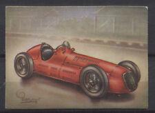 Maserati 4 CLT/1500 Racing Car 1948 Vintage 1950s Dutch Trading Card No.169