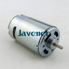NEW 550 DC Motor 3.175mm Axle Diameter 12V Mini Generator DIY Model High Speed