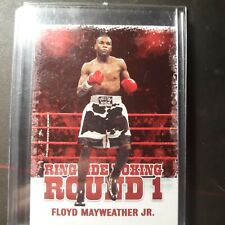 Floyd Mayweather Jr. 2010 Ringside Boxing Round 1 #17 (vs. Logan Paul)
