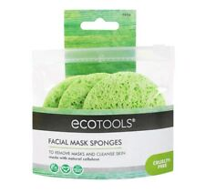 Ecotools Mask Remover Sponges Spa Quality 3 Piece Set color Green New Sealed