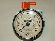 """Classic Mini Cooper """"S"""" 130mph Speedo Testa MAGNOLIA - 13h4442mg"""
