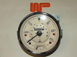 CLASSIC MINI - COOPER S 130MPH SPEEDO HEAD MAGNOLIA - 13H4442MG