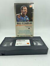 VHS: BILL COSBY:49 rare