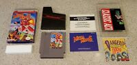 Mega Man 6 megaman six VI - Nintendo NES lot Box Poster & Manual Complete CIB!!!